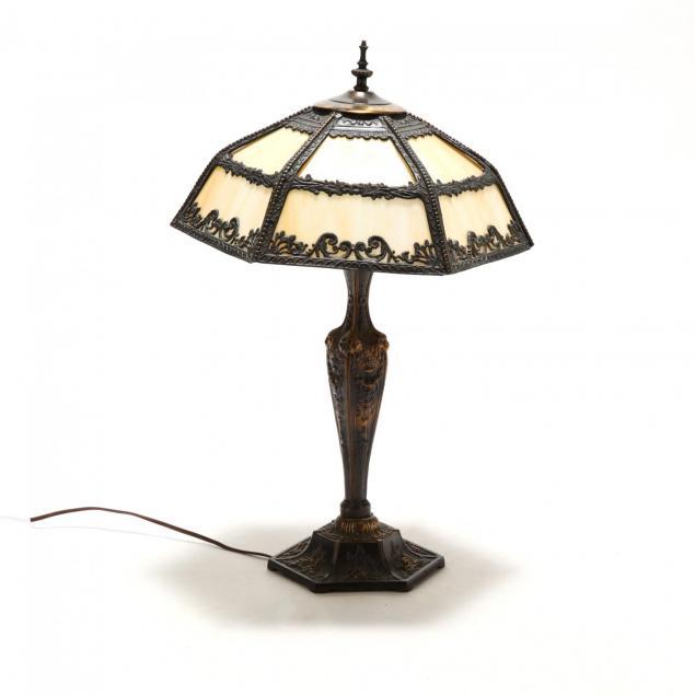 vintage-slag-glass-table-lamp