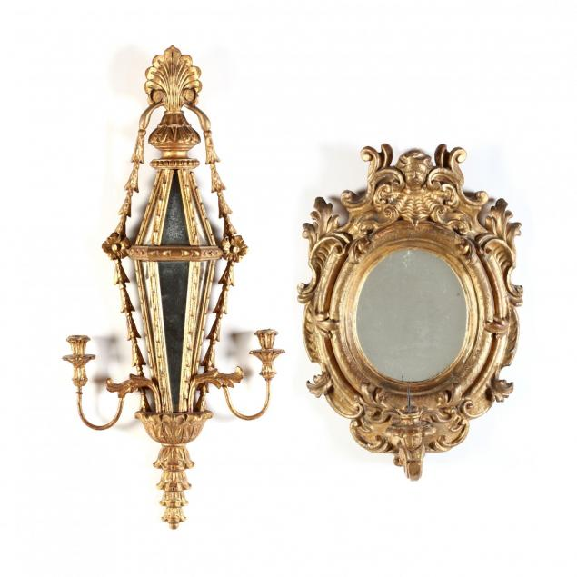 a-vintage-and-an-antique-italian-mirrored-sconce