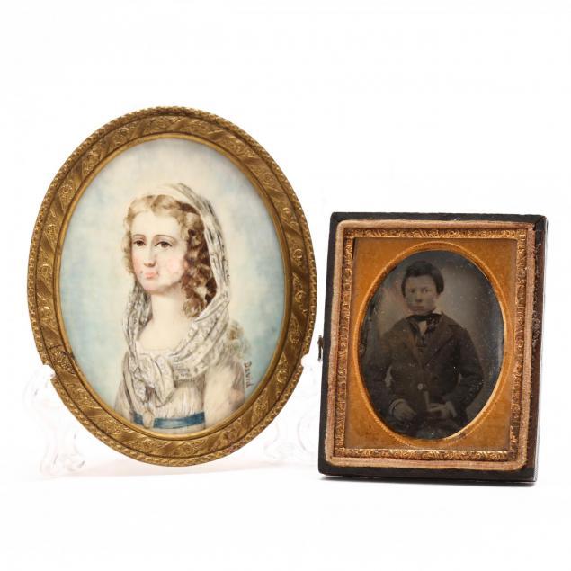 antique-miniature-portrait-and-ambrotype