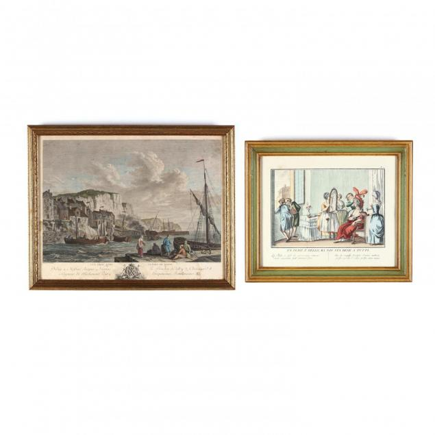 two-continental-hand-colored-engravings