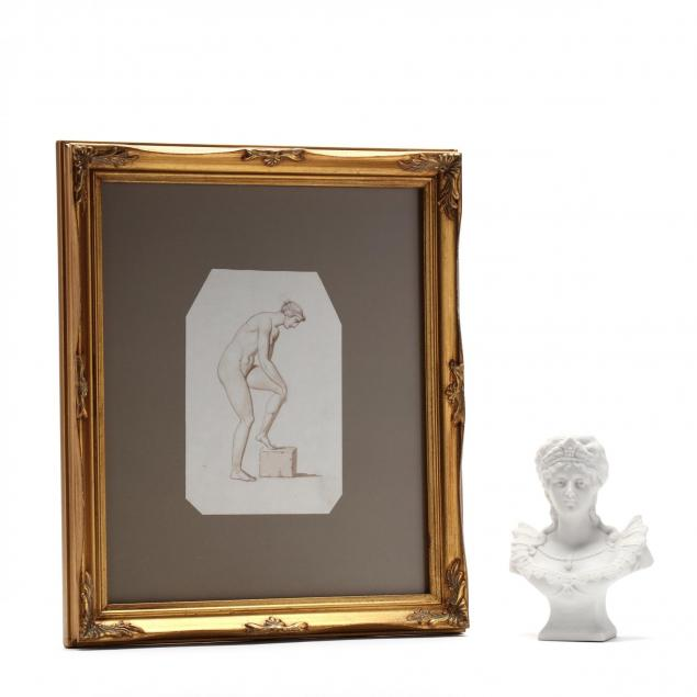 a-bisque-porcelain-bust-of-empress-josephine-a-classical-drawing