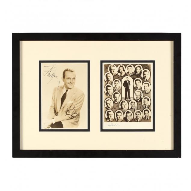 tommy-dorsey-and-orchestra-signed-photographs-including-sinatra