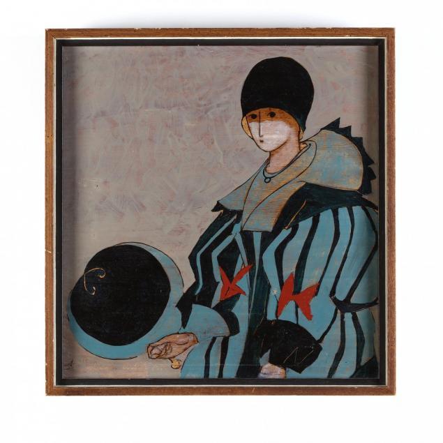 stephen-white-nc-woman-holding-a-fan