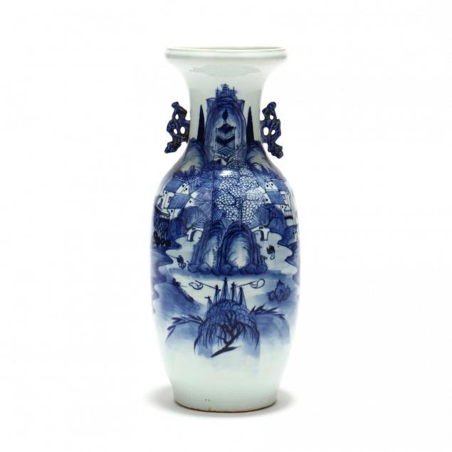 a-chinese-porcelain-blue-white-floor-vase