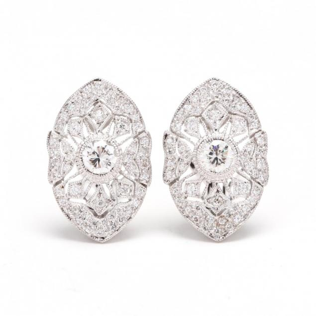 pair-of-18kt-white-gold-and-diamond-ear-clips