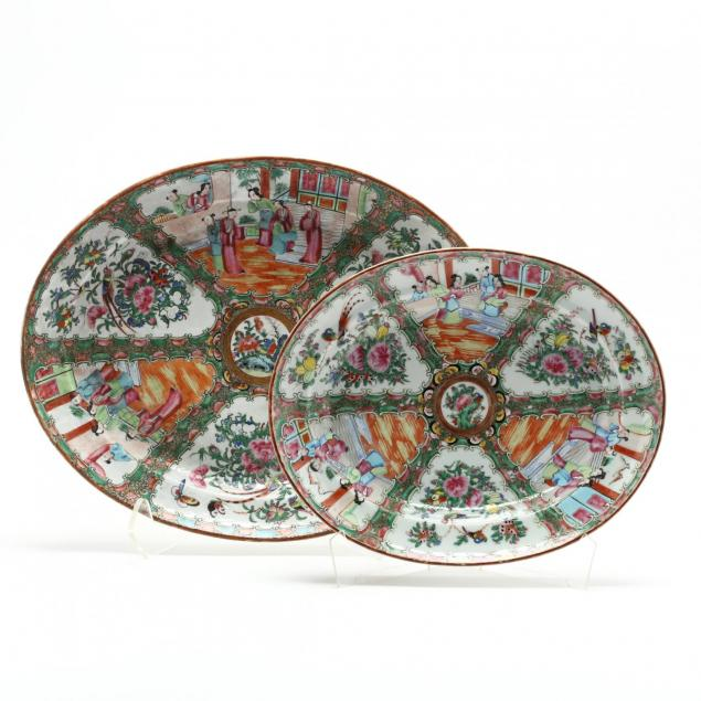 two-large-chinese-export-platters