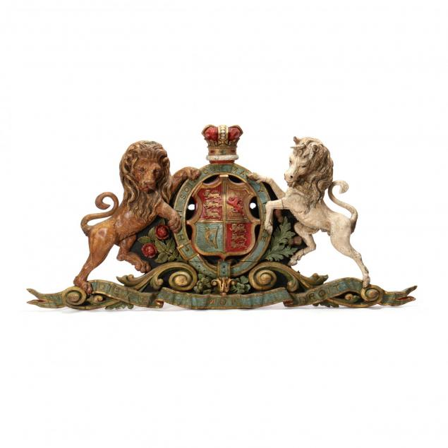 antique-carved-and-painted-royal-coat-of-arms-of-the-united-kingdom