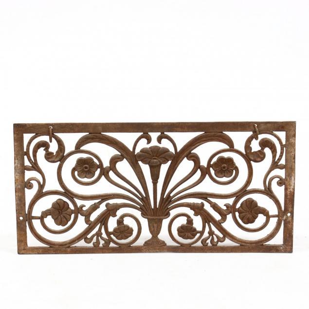 art-nouveau-cast-iron-hanging-panel