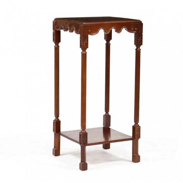 wellington-hall-regency-style-carved-mahogany-tall-stand