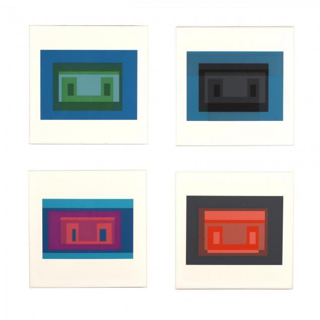 josef-albers-american-german-1888-1976-four-screenprints-from-i-ten-variants-i