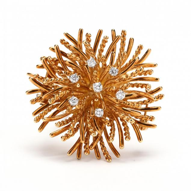 18kt-gold-and-diamond-anemone-clip-brooch-tiffany-co