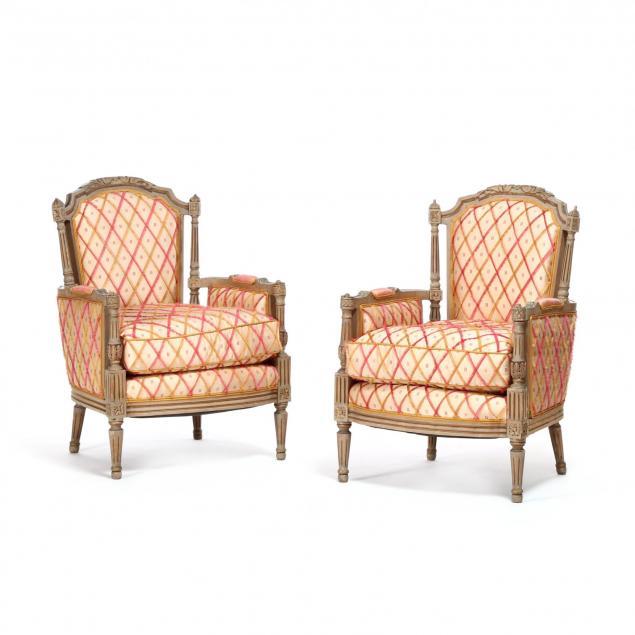 pair-of-louis-xvi-style-painted-bergeres