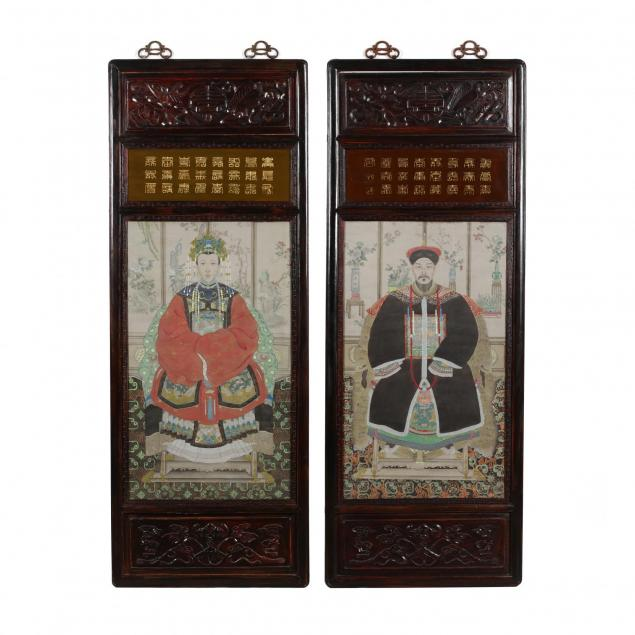 a-pair-of-chinese-ancestor-portraits