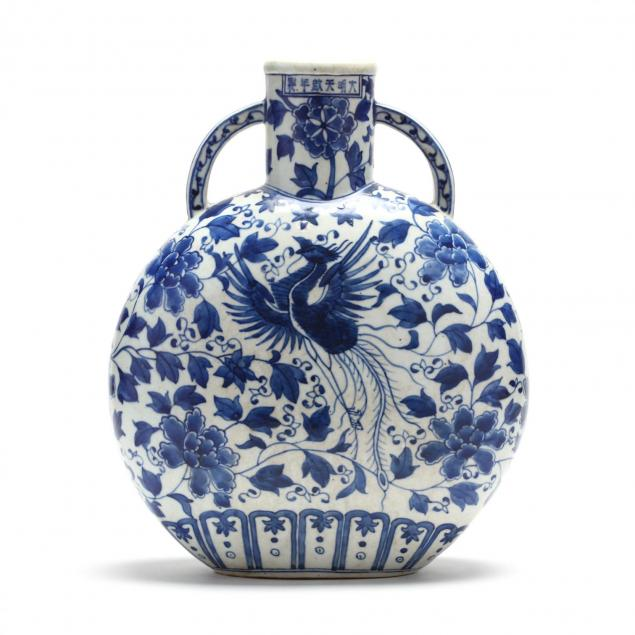 a-chinese-blue-and-white-porcelain-moon-flask