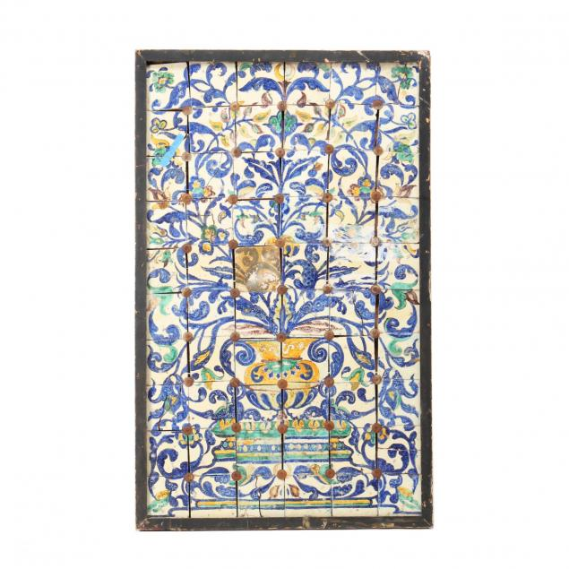 spanish-polychromed-tile-architectural-panel