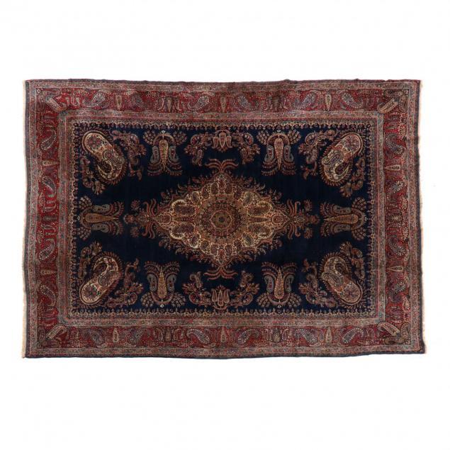 semi-antique-paisley-kerman-carpet
