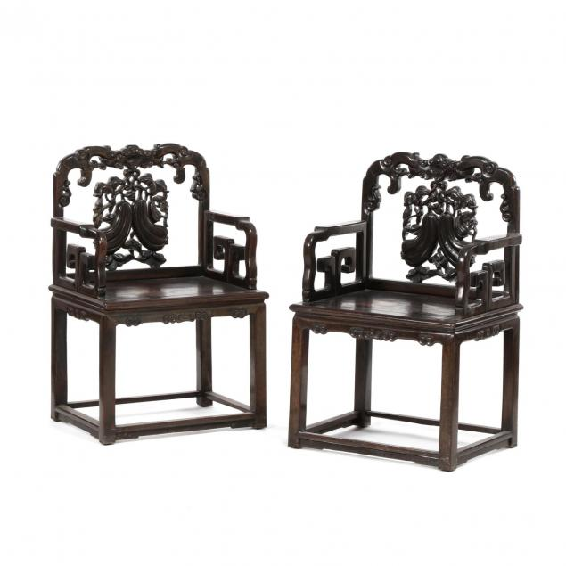 a-pair-of-chinese-carved-hardwood-antique-arm-chairs