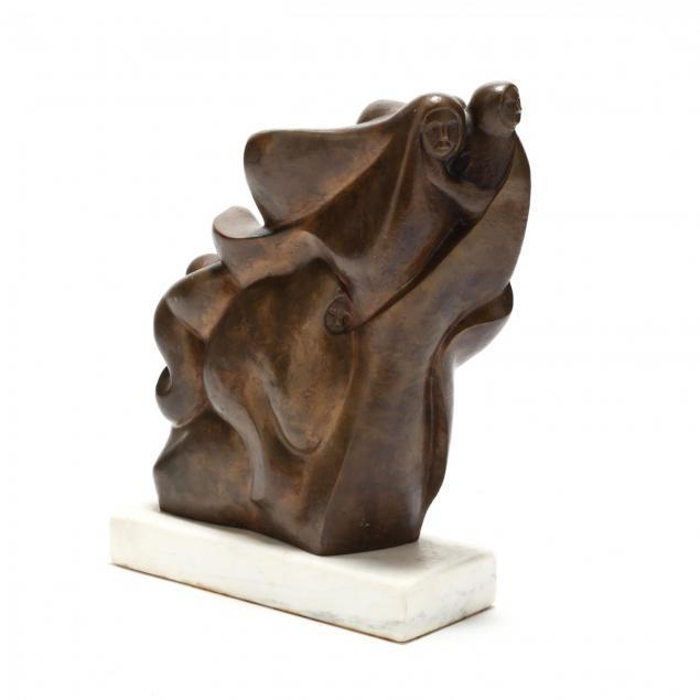 wasyl-palijczuk-ukrainian-american-b-1934-bronze-sculpture