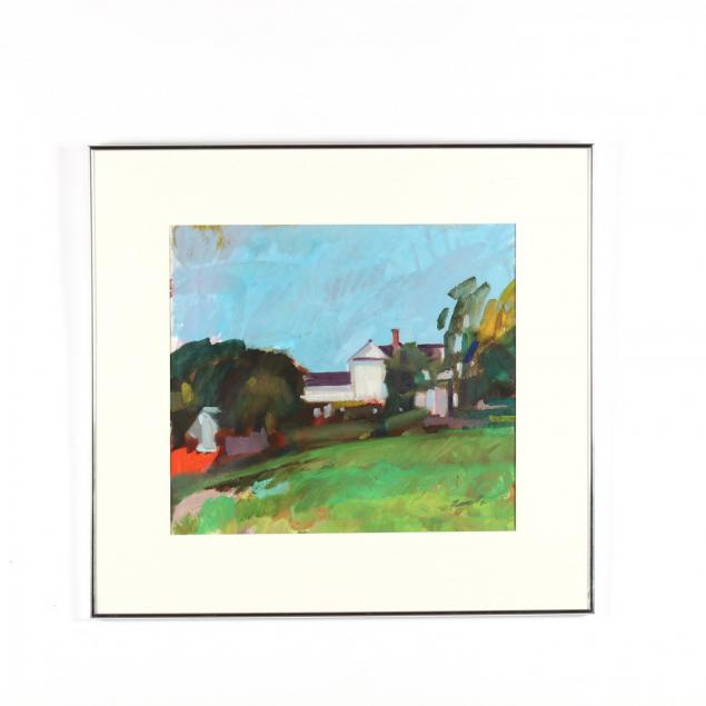 richard-fennell-nc-i-landscape-with-house-ii-i
