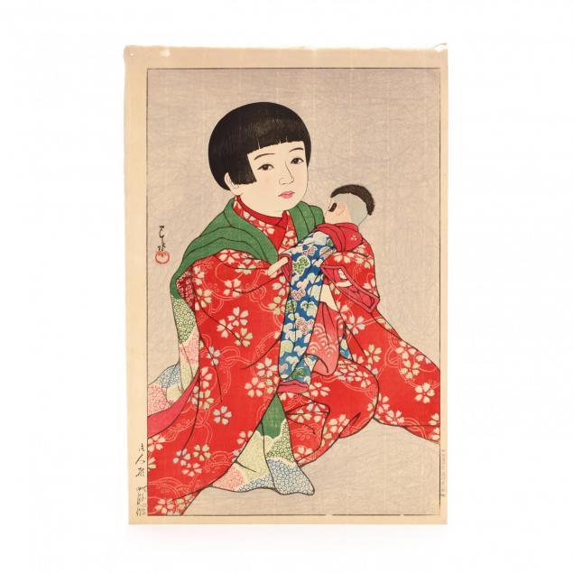 i-a-doll-i-by-hasui-kawase-japanese-1883-1957