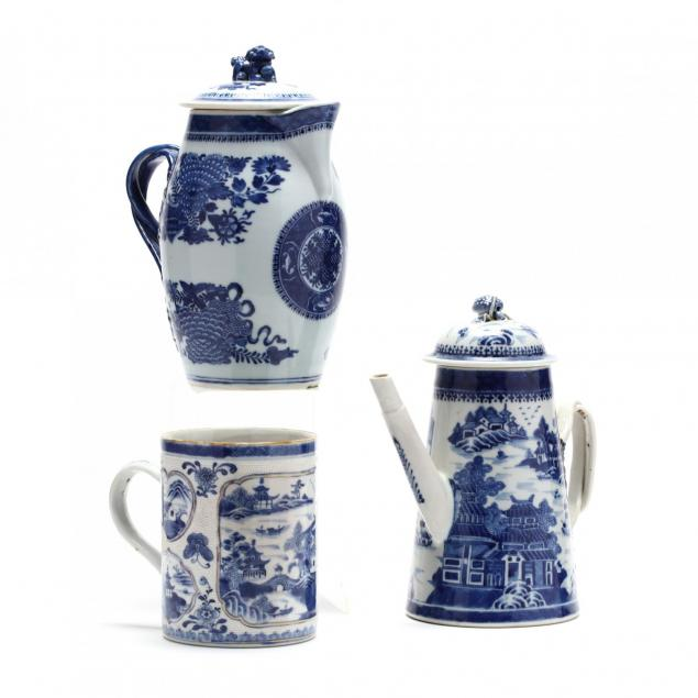 three-chinese-export-blue-and-white-porcelain-vessels