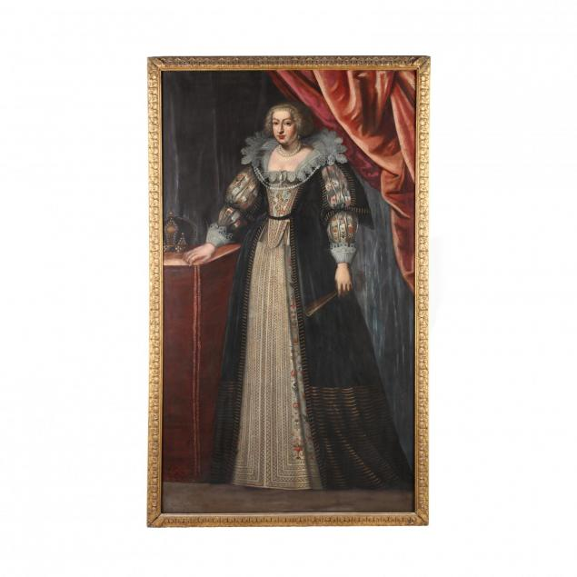 continental-school-17th-century-portrait-of-a-noblewoman