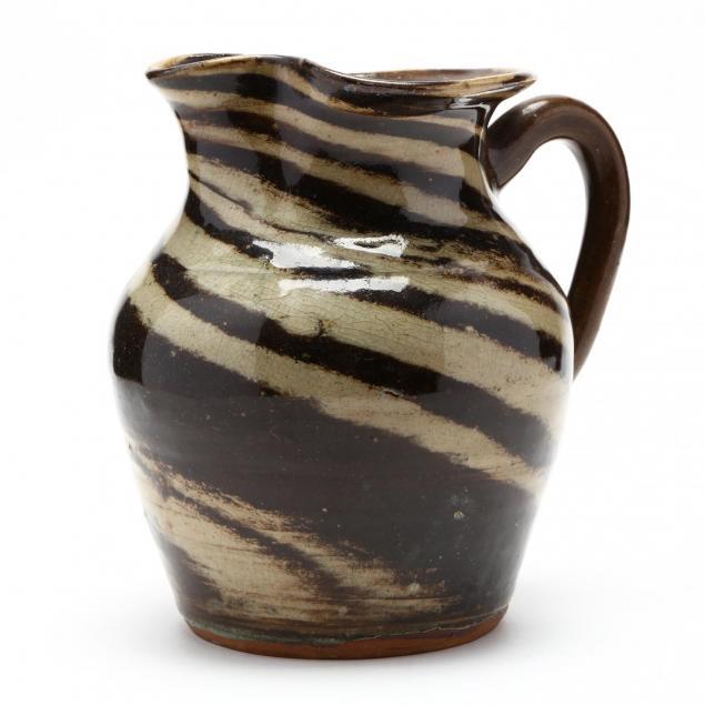 swirl-pottery-pitcher-reinhardt-brothers
