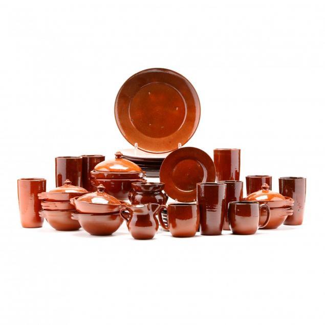 an-assorted-set-of-ben-owen-master-potter-tableware
