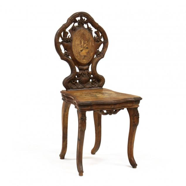 black-forest-carved-and-inlaid-chair