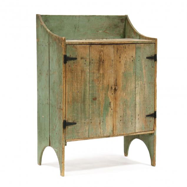 southern-yellow-pine-painted-jelly-cupboard