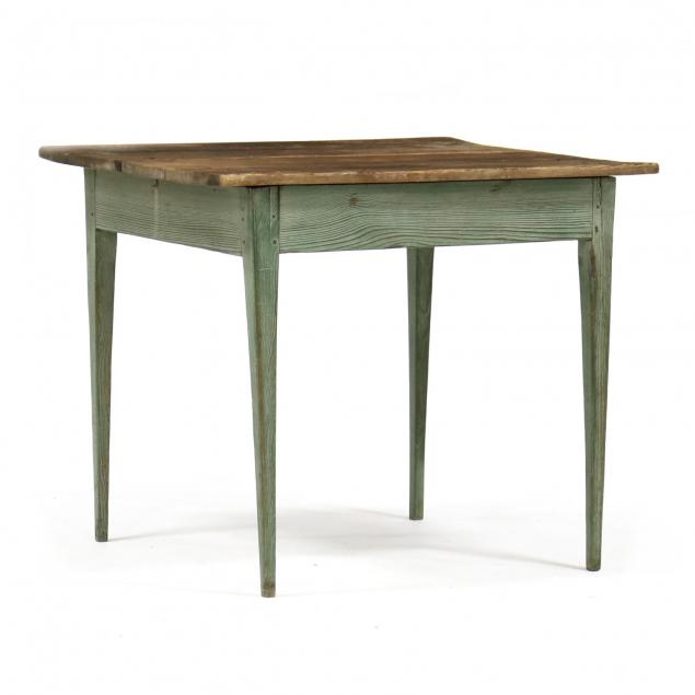 southern-yellow-pine-painted-work-table