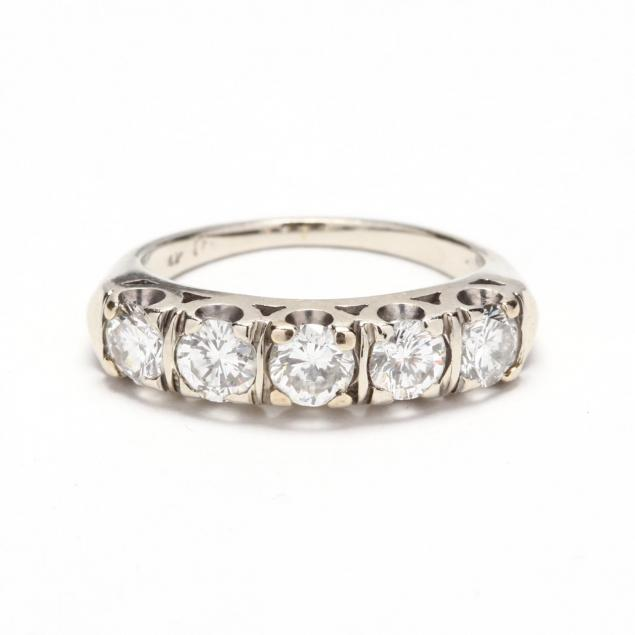 vintage-14kt-white-gold-diamond-band