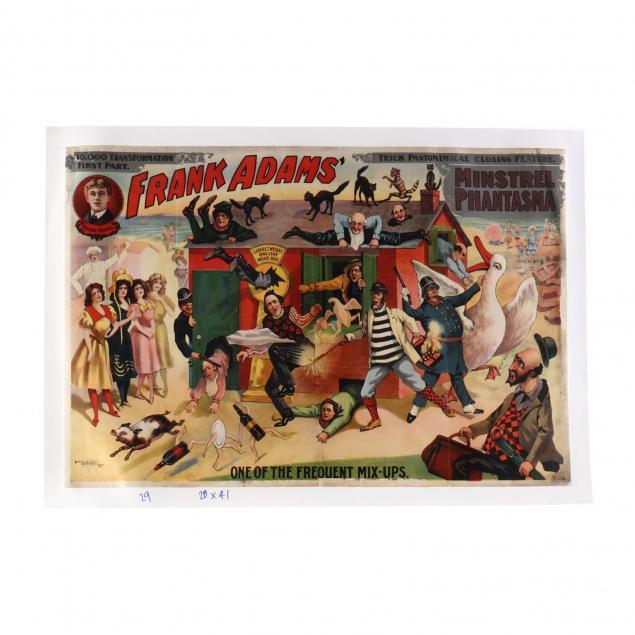 frank-adams-minstrel-phantasma-vintage-poster-circa-1903