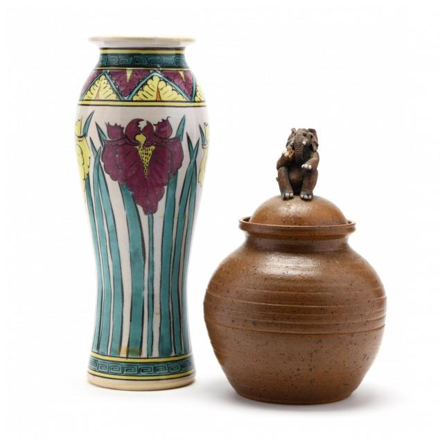 two-pieces-of-nc-art-pottery