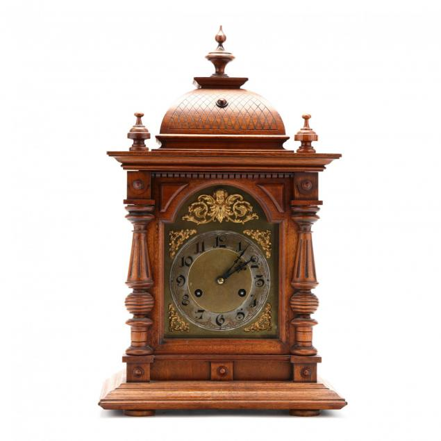 junghans-carved-walnut-bracket-clock
