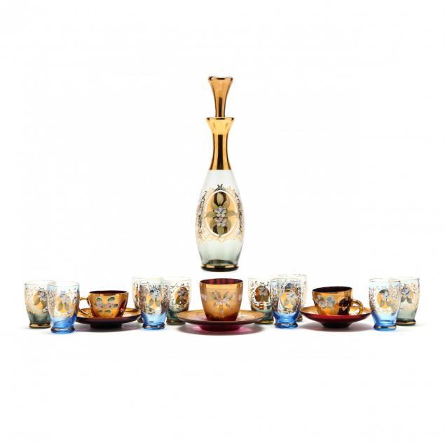 18-pieces-of-vintage-venetian-glass