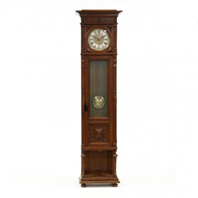 antique-german-tall-case-clock