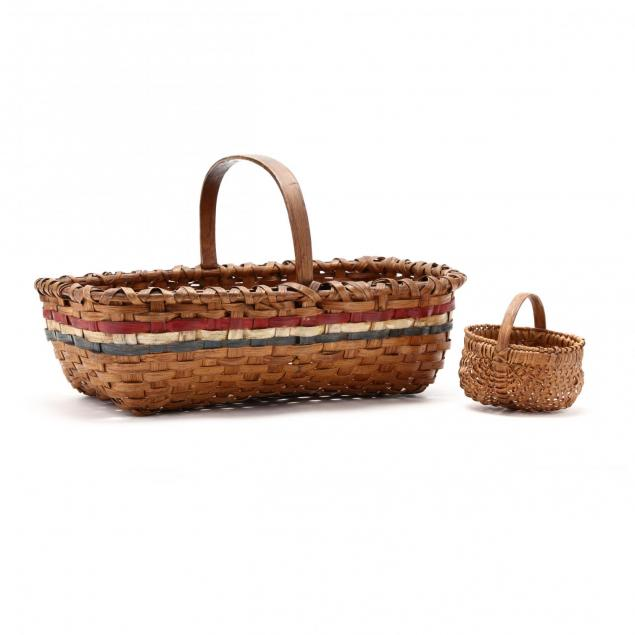 two-vintage-piedmont-nc-baskets