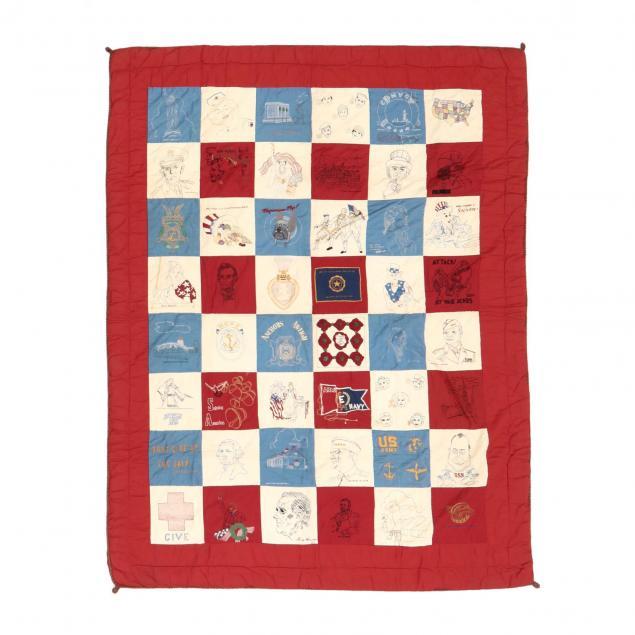 world-war-ii-era-patriotic-quilt