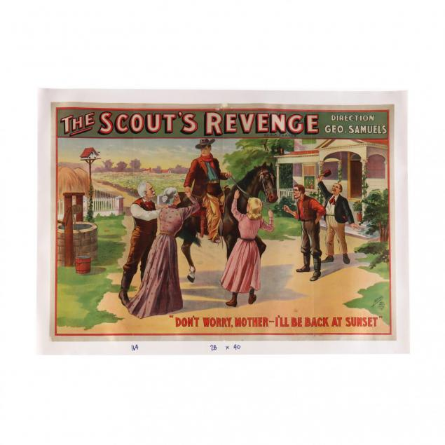 i-the-scout-s-revenge-don-t-worry-mother-i-ll-be-back-at-sunset-i-vintage-poster