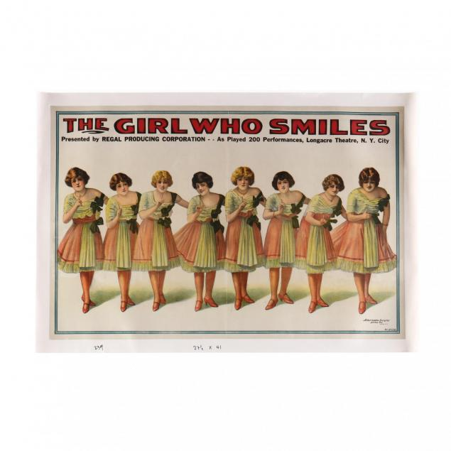 i-the-girl-who-smiles-i-vintage-theater-poster