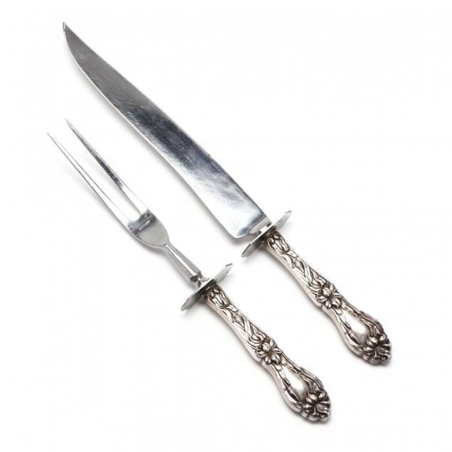 frank-m-whiting-lily-floral-sterling-silver-carving-set