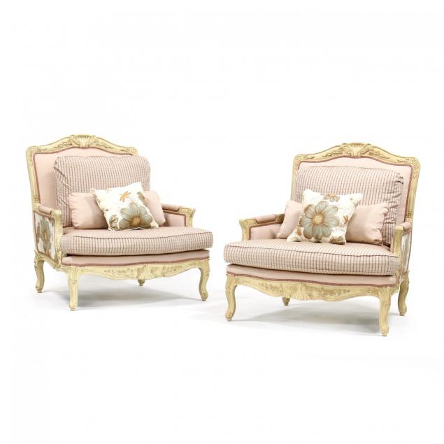pair-of-french-provincial-style-oversized-bergeres