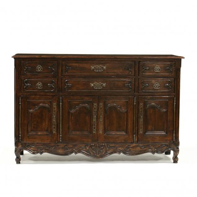 bausman-co-french-provincial-style-buffet