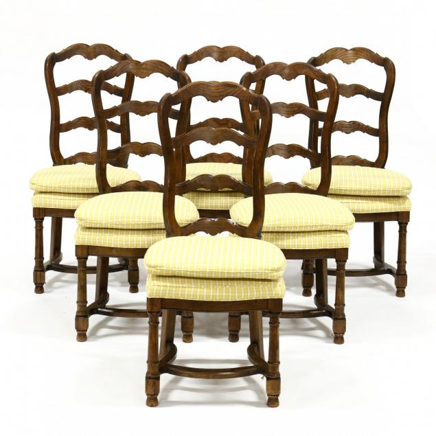 century-furniture-set-of-six-french-provincial-style-dining-chairs