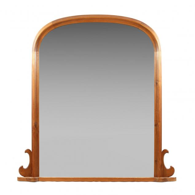 large-pine-tombstone-mirror