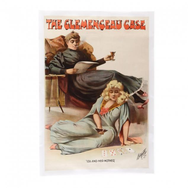 i-the-clemenceau-case-iza-and-her-mother-i-vintage-theater-poster