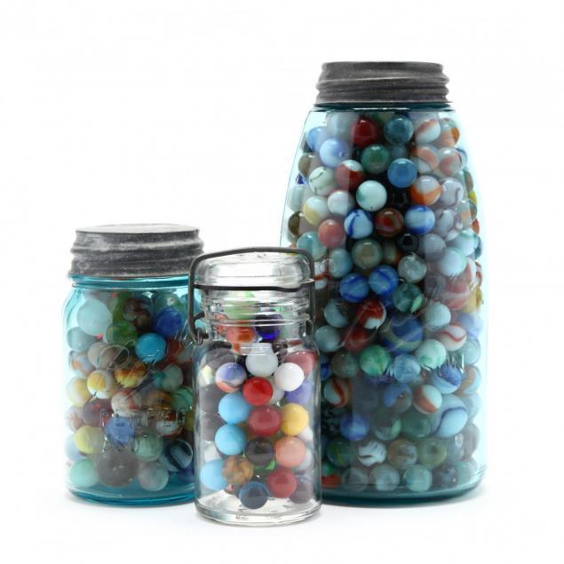 three-vintage-jars-of-marbles