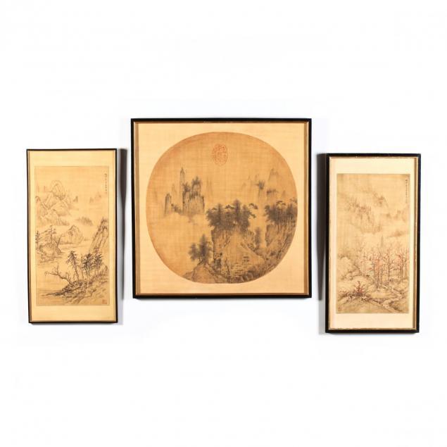 three-chinese-paintings
