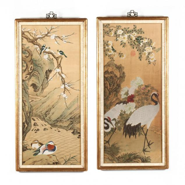 a-pair-of-chinese-bird-and-flower-paintings